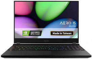 Gigabyte AERO 15 OLED SA-7US5130SH Thin and Light Laptop
