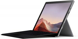 Microsoft Surface Pro 7 - best laptop for non gamers