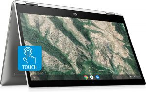 HP Chromebook x360 14-inch HD Touchscreen Laptop